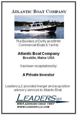 Leaders advises Atlantic Boat in connection with recapitalization